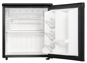 Danby Refrigerator DAR017A2BDD INTERIOR FRONT