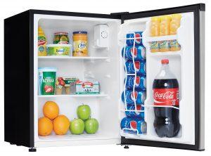 Danby Refrigerator DAR023C1BSLD Propped Right