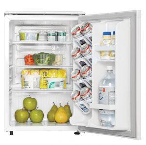 Danby Refrigerator DAR026A1WDD INTERIOR PROPPED