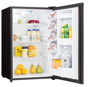 Danby Refrigerator DAR044A4BDD INTERIOR PROPPED