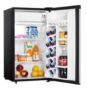 Danby Compact Refrigerator DCR032A2BSLDD INTERIOR PROPPED Custom