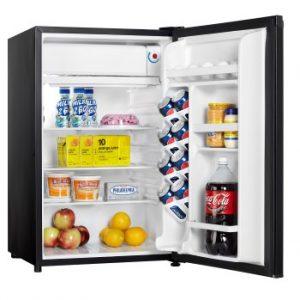 Danby Compact Refrigerator DCR044A2BDD INTERIOR PROPPED Custom
