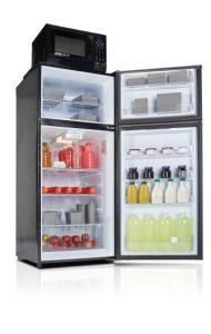 Danby Mid-Size Refrigerator DFF103A4BDB open Custom 2