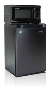 Danby reg One Plug trade by MicroFridge reg Combination Appliance Danby One Plug 2 6SM4-7A1 black FR 10613F