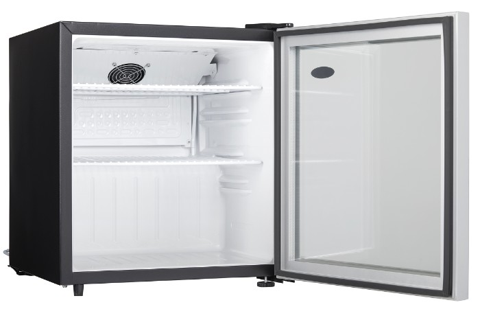 1.6 cu.ft. Danby Compact All Refrigerator with Glass Door