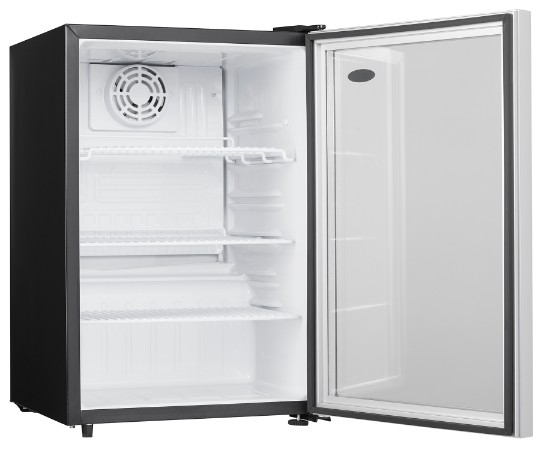 2.6 cu.ft. Danby Compact All Refrigerator with Glass Door