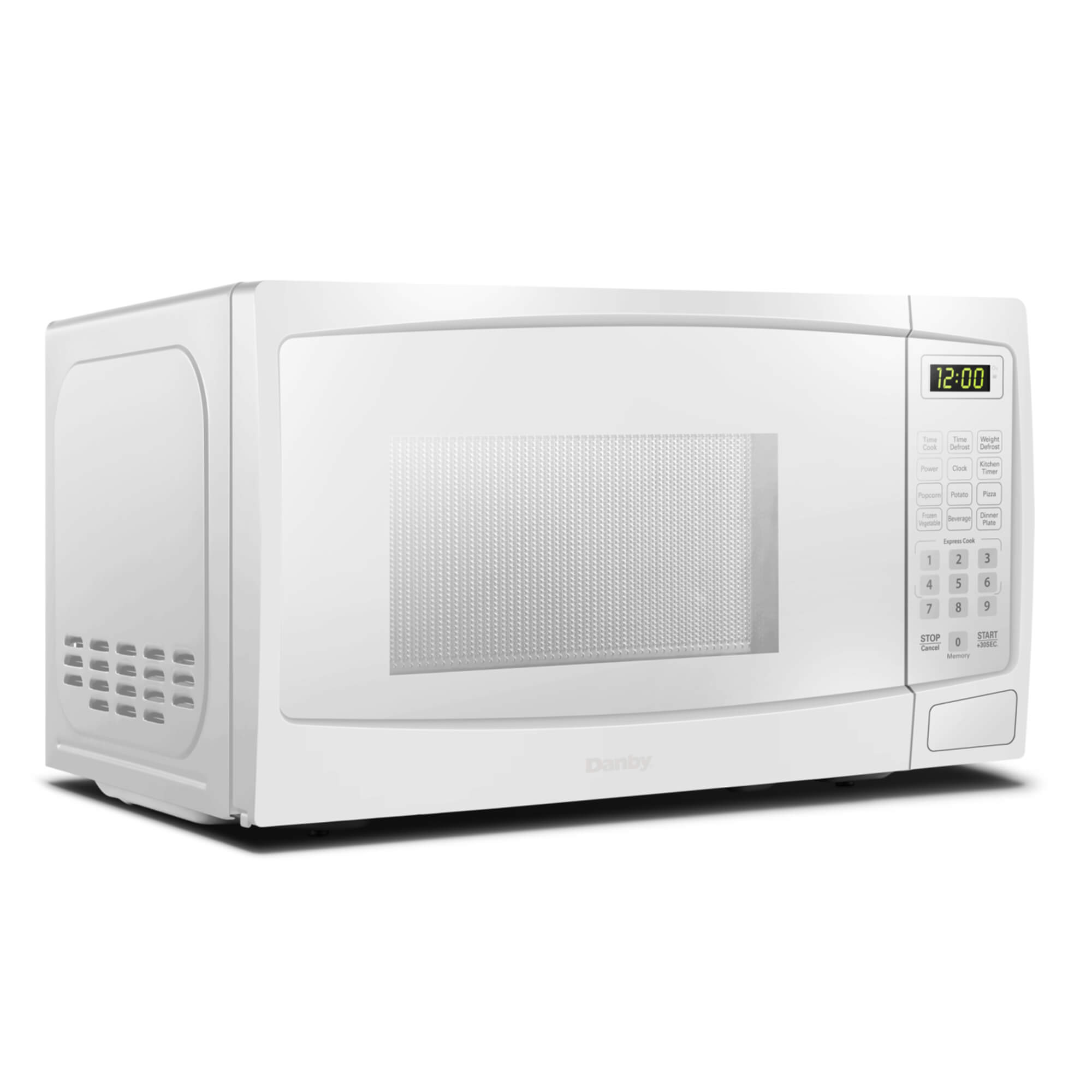 0.7 cu.ft Danby White Microwave