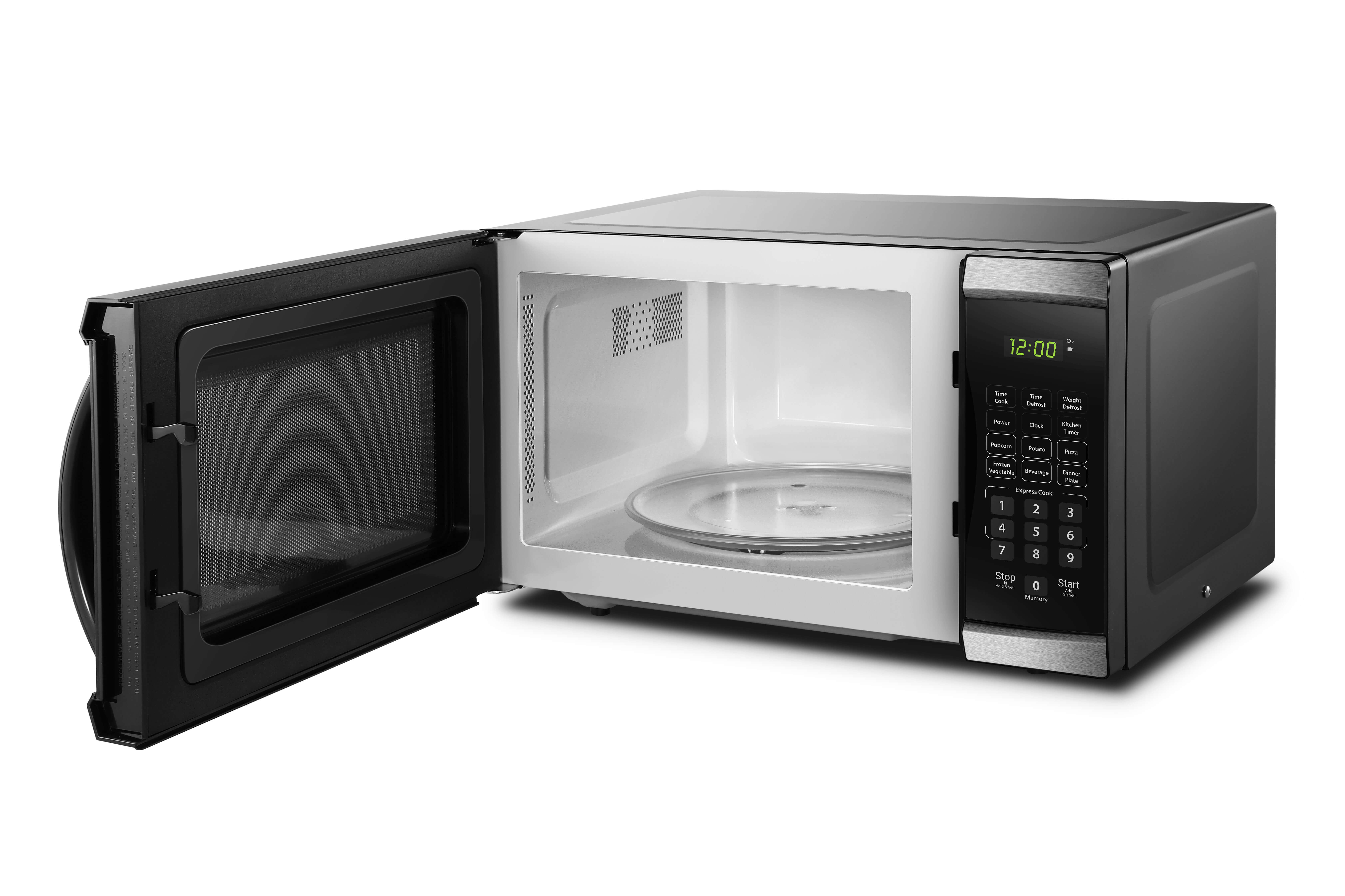 0.9 CU. FT. DANBY® BLACK MICROWAVE