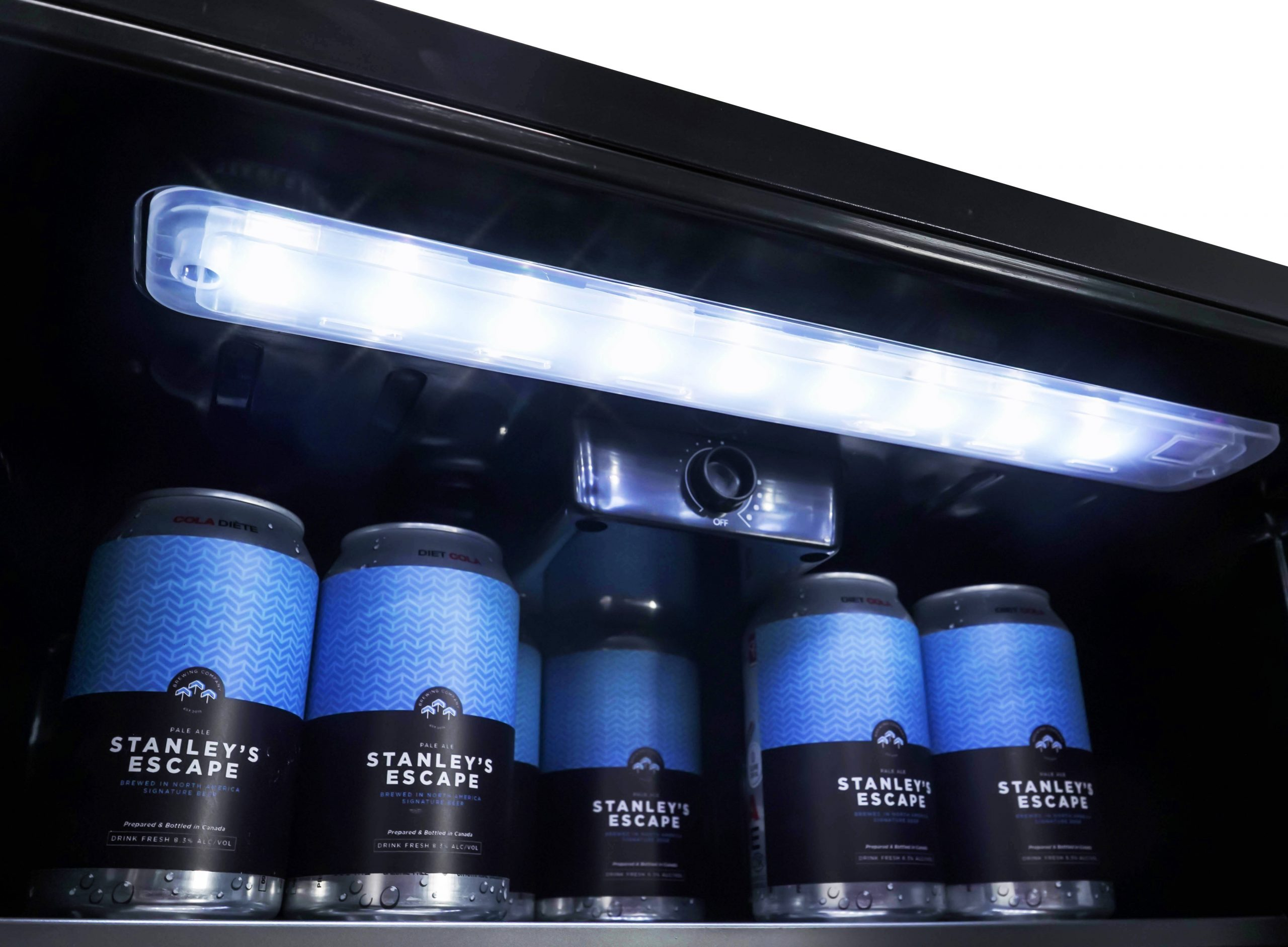 4.4 cu. ft. Freestanding Stainless Steel Outdoor Refrigerator