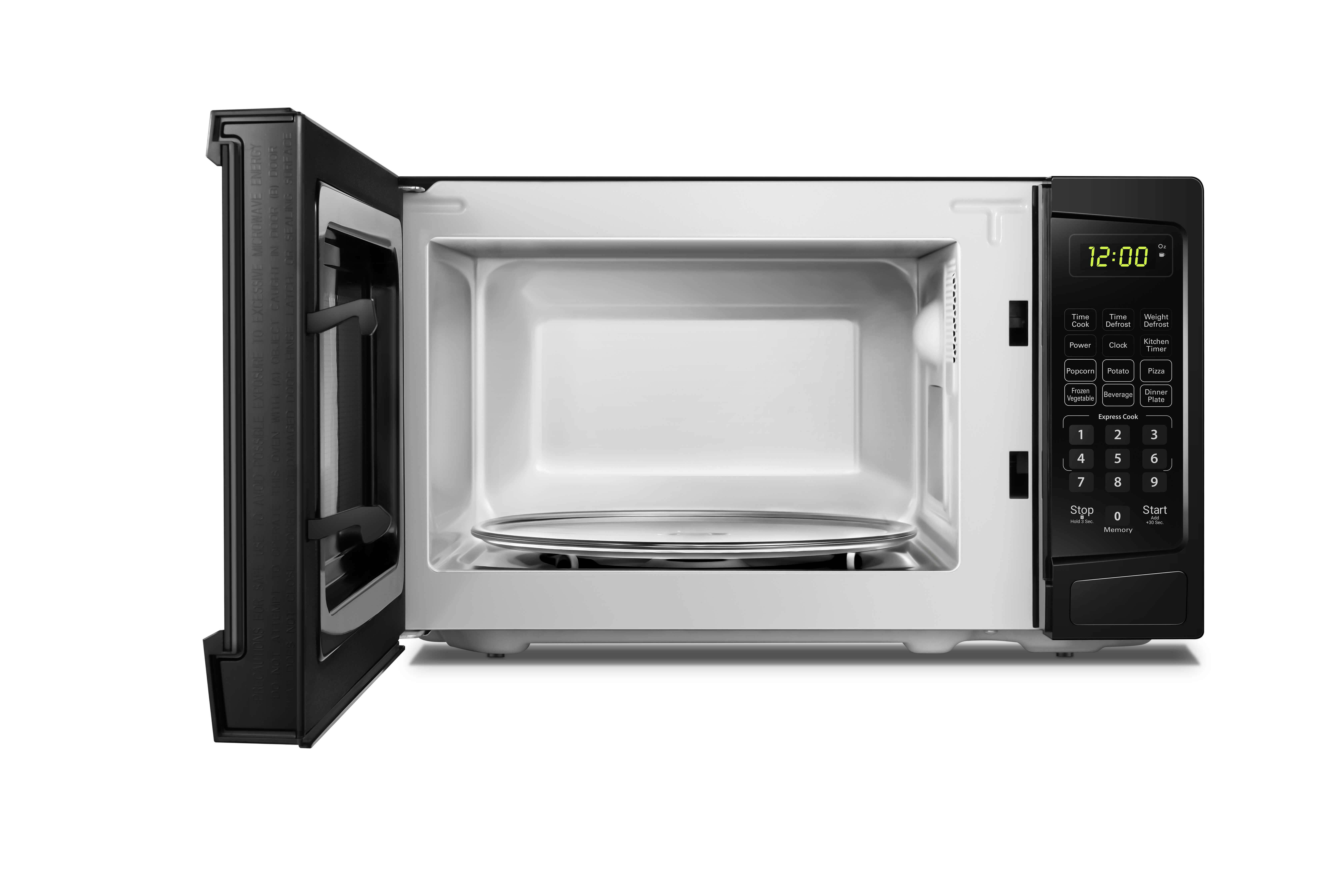 Danby 0.9 cuft Black Microwave