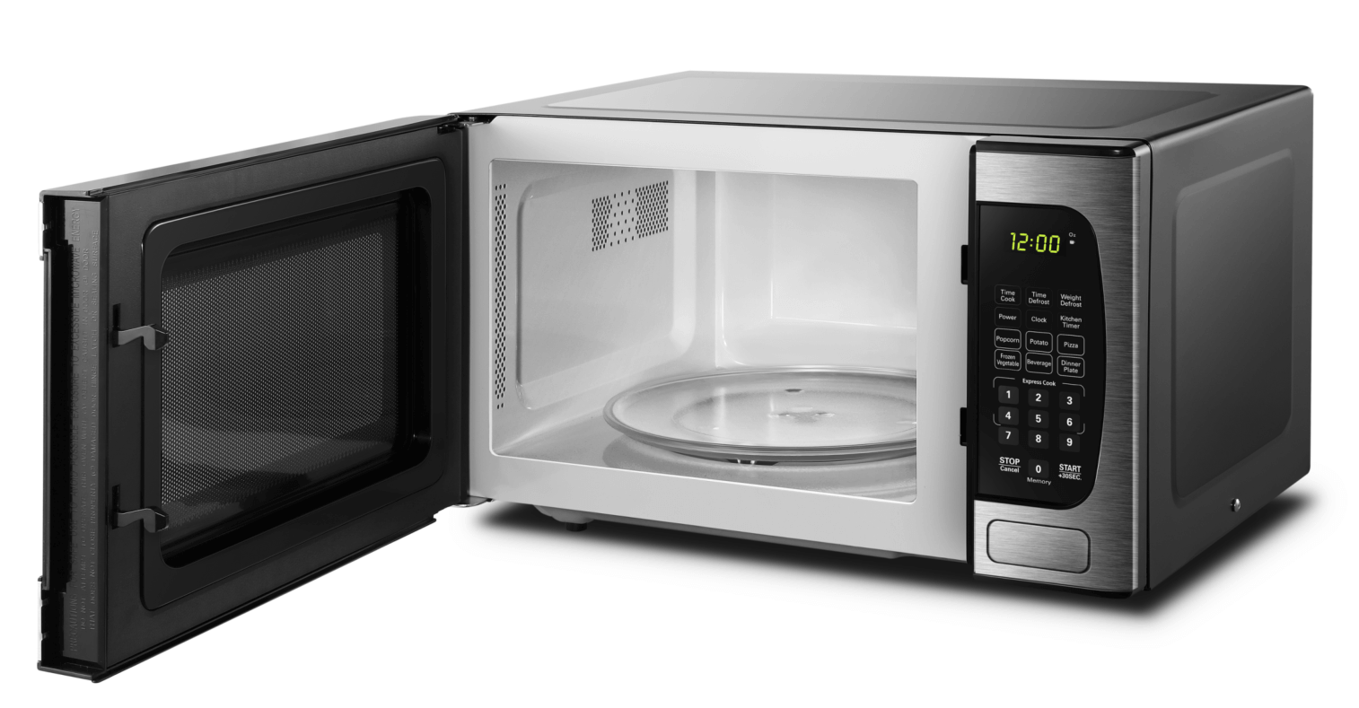 Danby 0.9 cu.ft Microwave with Stainless Steel front