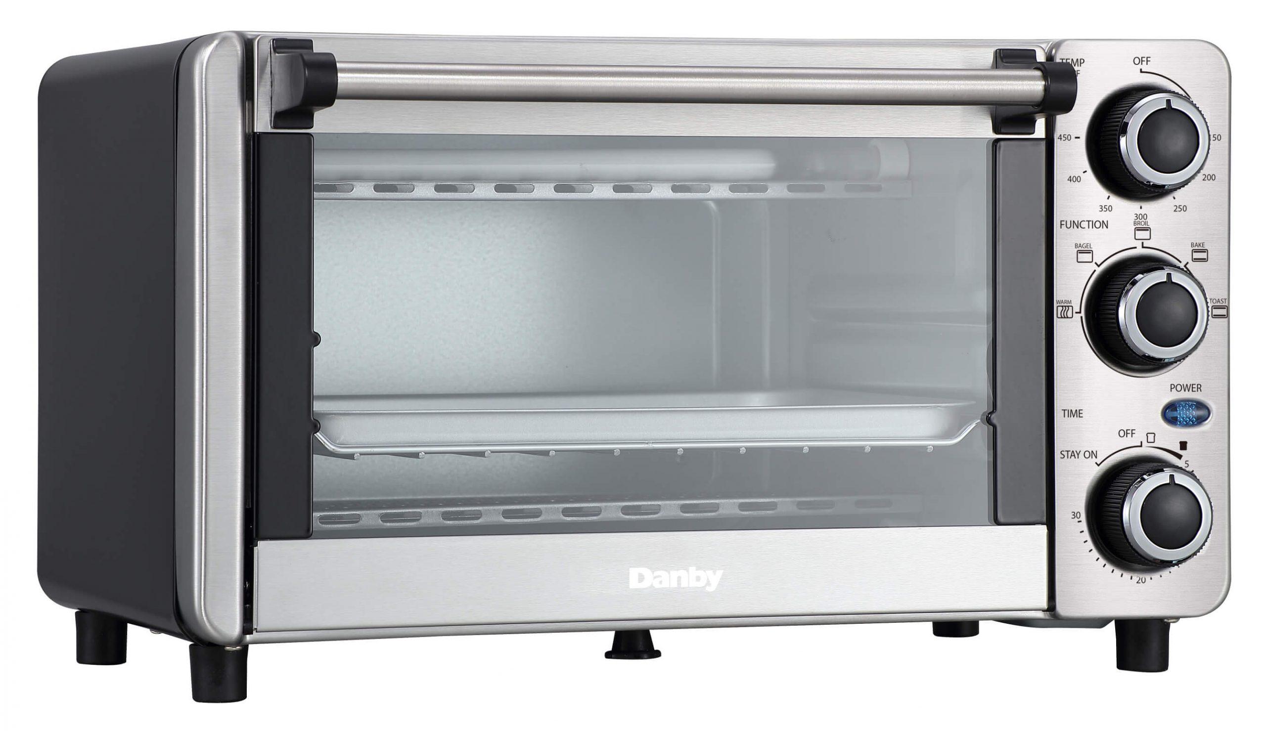 Danby 0.4 cu ft/12L 4 Slice Countertop Toaster Oven