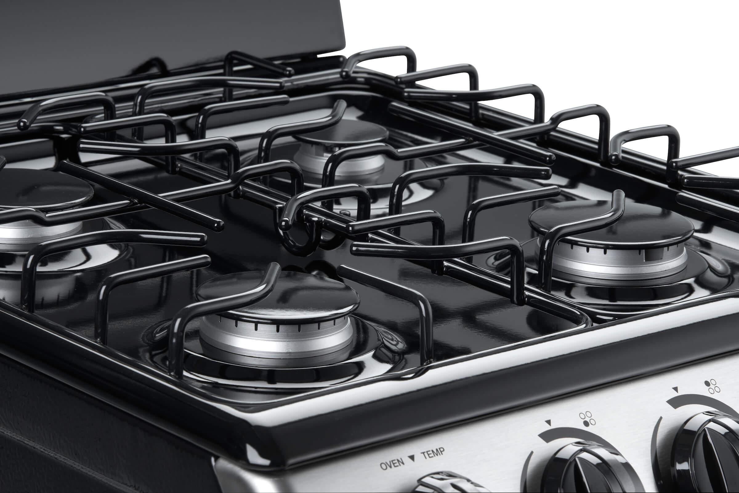 "Danby Designer 20"" Free Standing Gas Range – Stainless Steel"